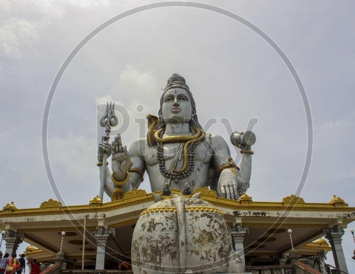 Lord Shiva Statue at Murudeshwar Temple