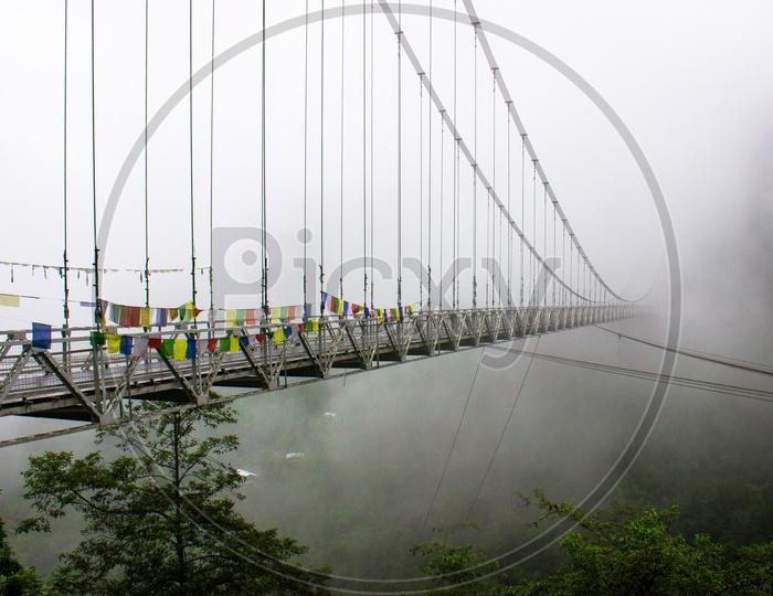 Singshore Bridge, Asia's second highest bridge