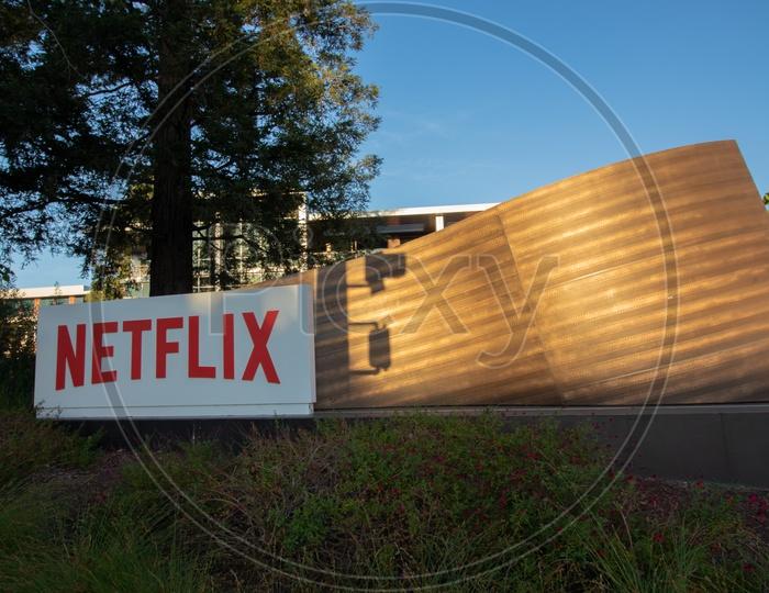 Netflix corporate office at Head quarters