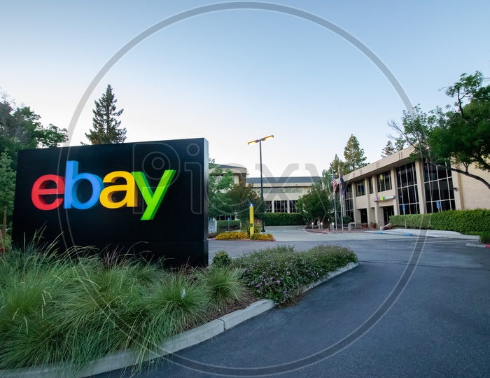 Ebay corporate office at head quarters