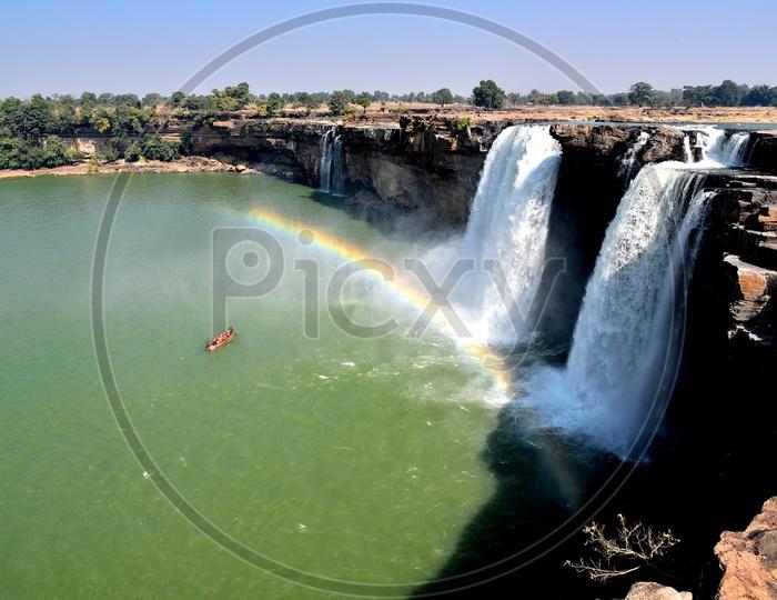 Chitrakoot Falls or Chitrakote Falls