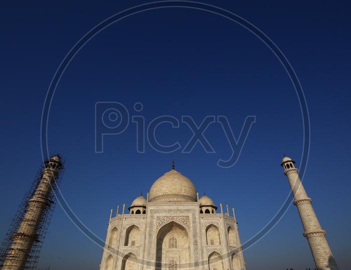 Landscape of Taj Mahal