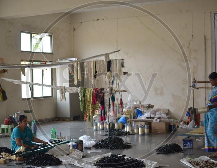 Pochampally Handloom Park, Ikat Art