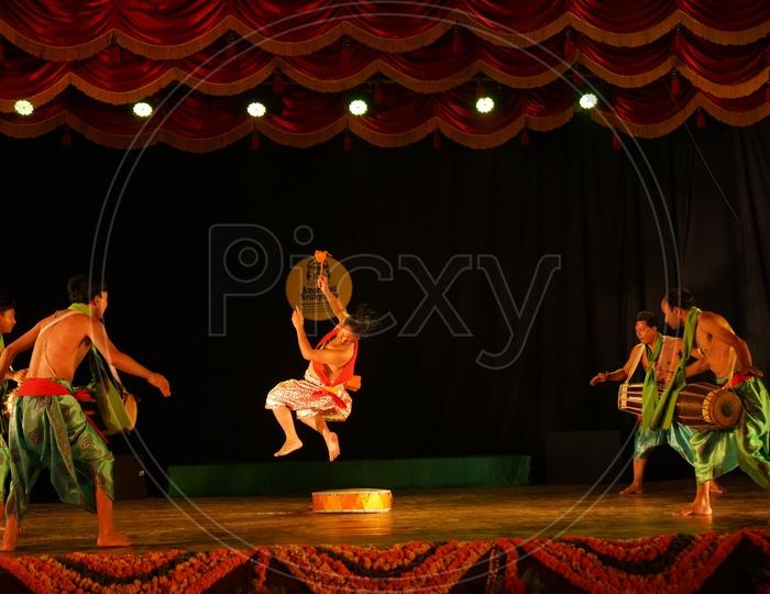 Traditional Dance Performance at Amaravati Nrityotsav in Vijayawada