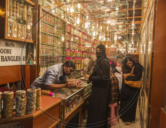 Laad Bazaar near Charminar