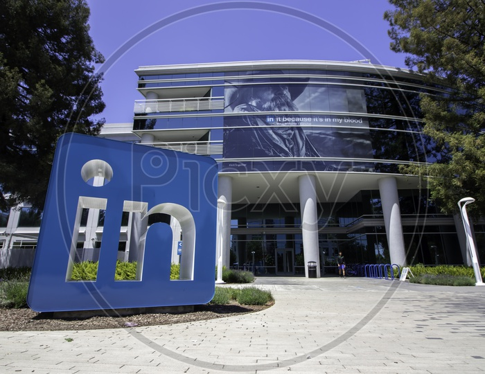 LinkedIn Corporate office at Headquarters