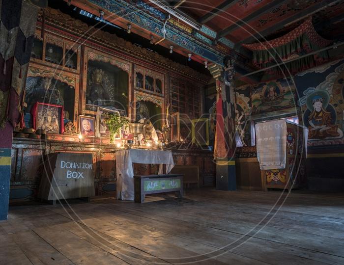 Bonpo monastery kewzing, kewzing village, Sikkim