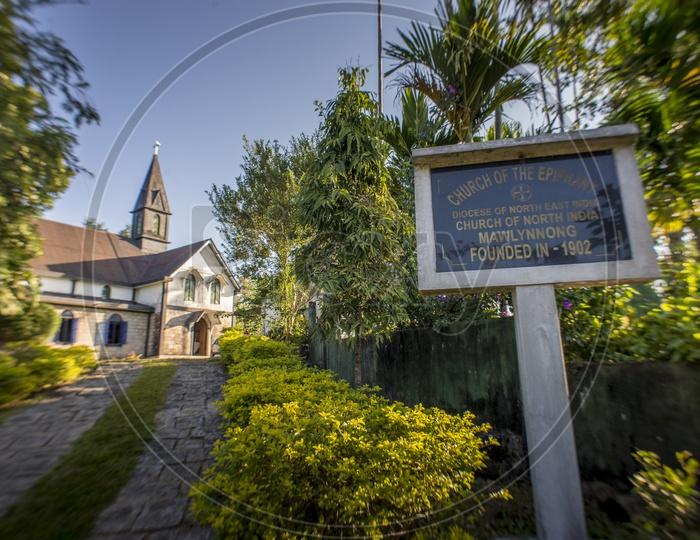 Church in Mawlynnong