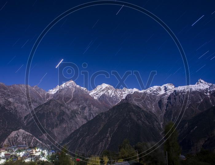 Star Gazing at Kalpa, Himachal Pradesh