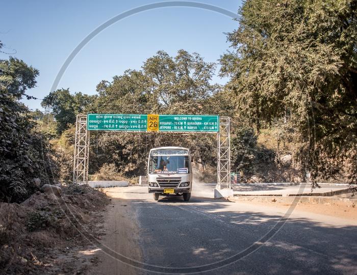 odisha rtc in eastern ghats