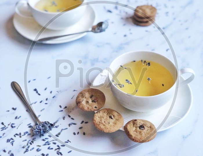 Tea / Chai / Cookies / Biscuits / Drink / Hot Drink