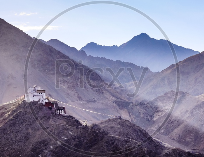 Thicksey Monastery,  Hills and Mountains of Leh Ladakh