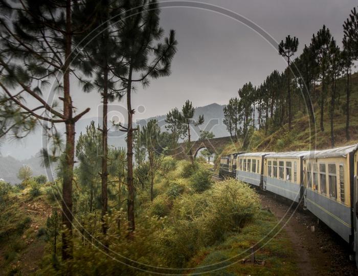 Shimla to Kalka Toy Train