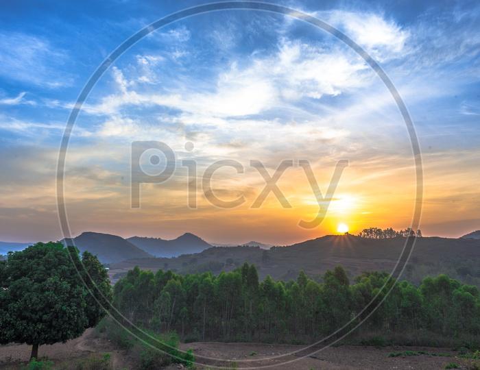 sunrise in araku