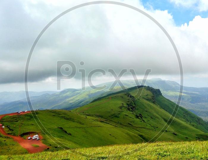 Kudremukh Mountain range