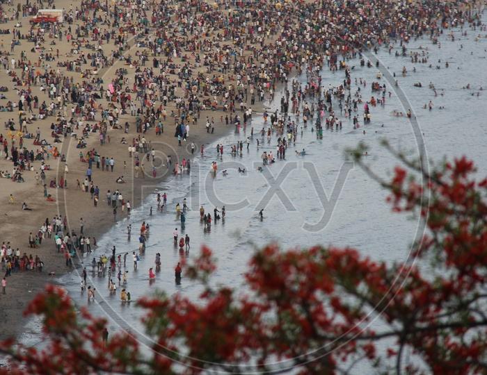Girgaon Chowpatty Top View