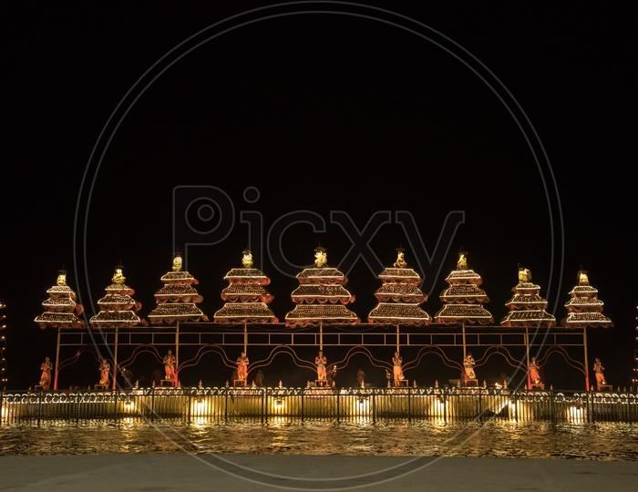 Krishna Haarathi offerings.