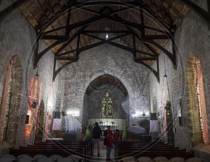 Church at Dharmasala, Himachal Pradesh