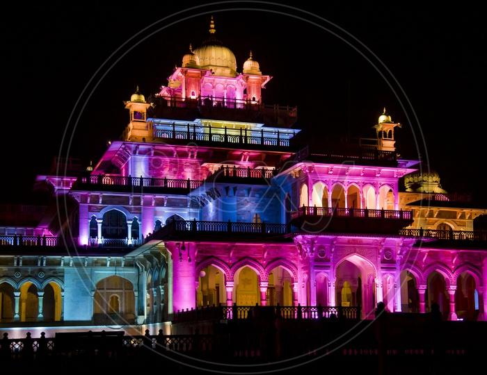 The Albert Hall - Illuminated