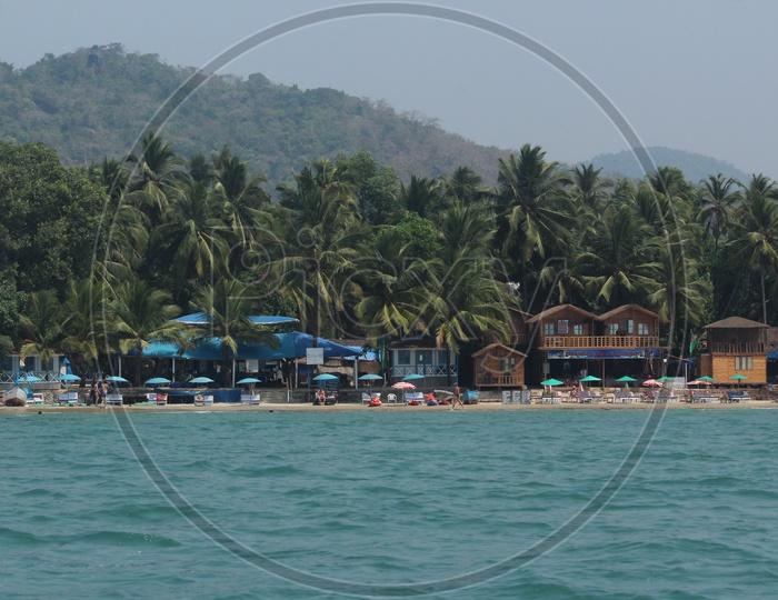 The serene beaches of south goa