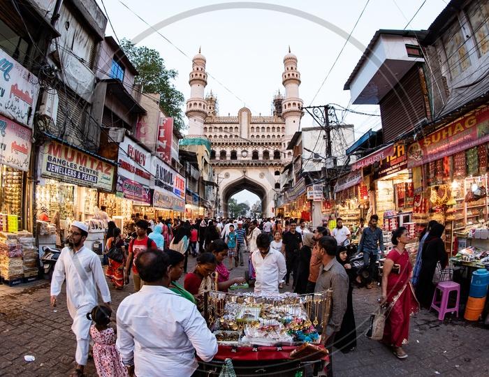 Street Shopping near Charminar