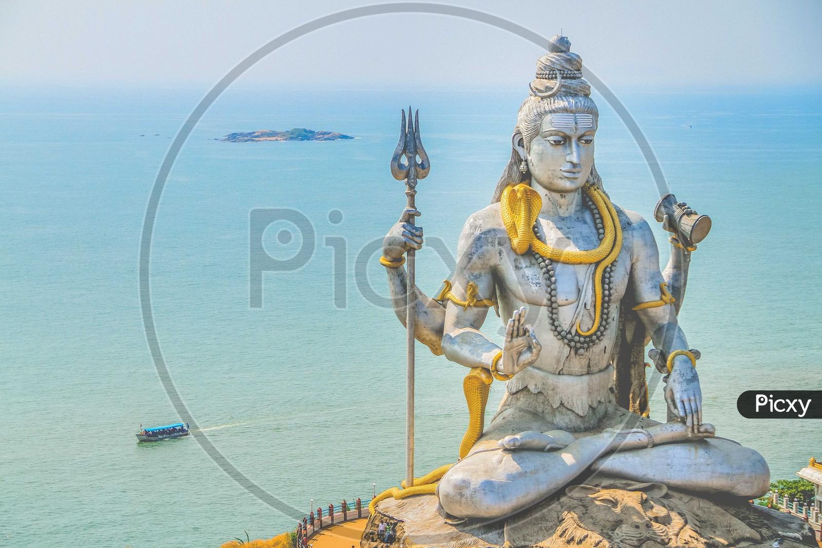 Lord Shiva @ Murudeshwar Temple