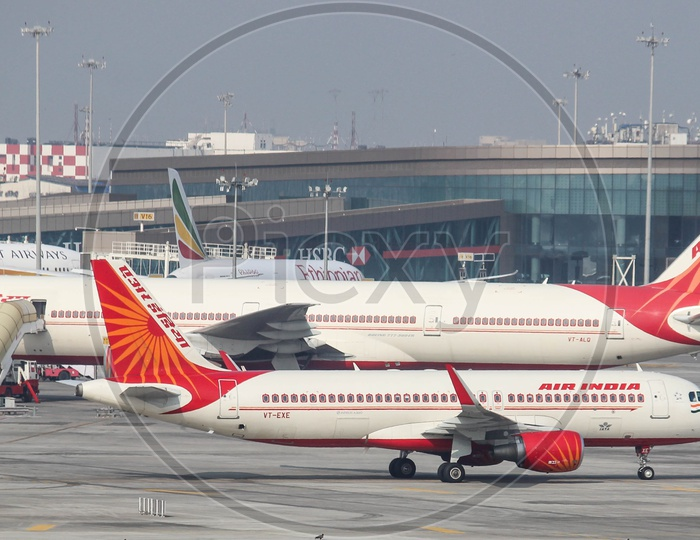 Air India here there everywhere.