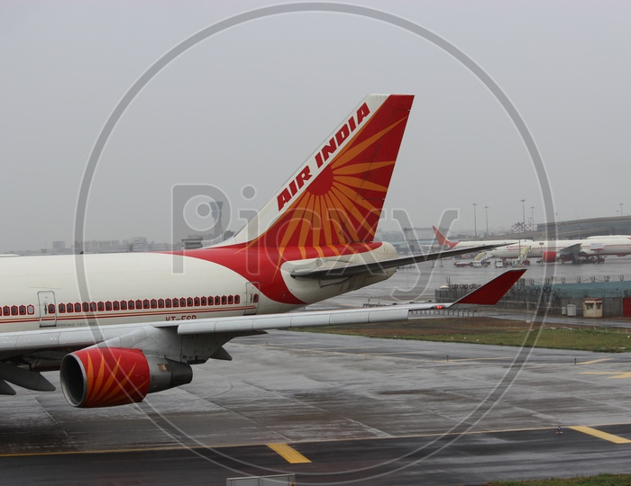 Air India Boeing 747-400 tail