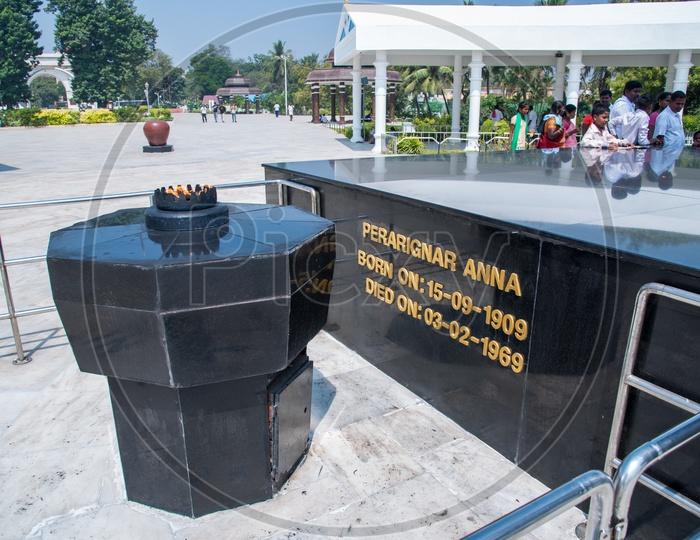 Anna Memorial,Chennai.
