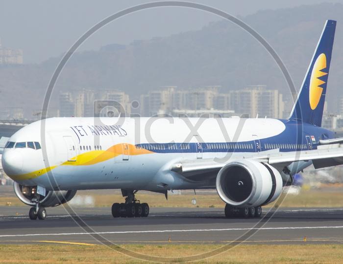 Jet airways B777
