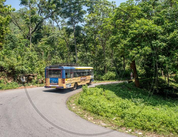APSRTC buses in paderu ghat