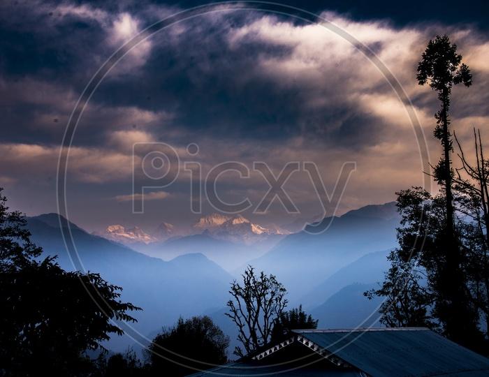Mt. Kanchenjunga from Pelling, Sikkim