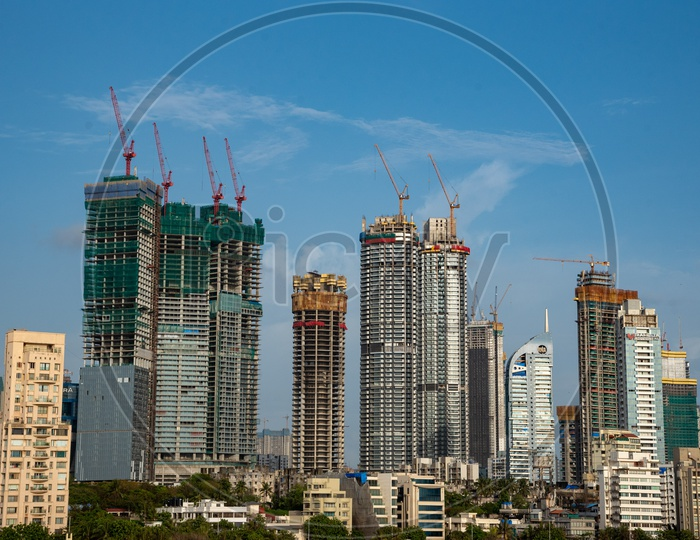 High Rise Building under construction in Prime area of Worli & Prabhadevi