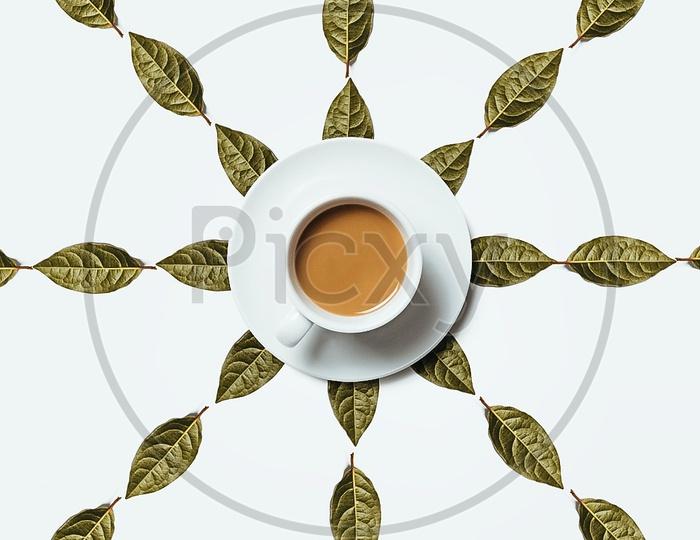 Flatlay Tea and Leaf's
