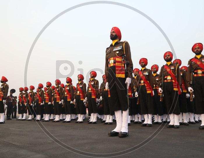 Indian Army Day Celebrations at Parade Ground in DelhiIndian Army Day Celebrations at Parade Ground in Delhi