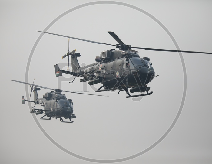Indian Army Attack Helicopter Rudra