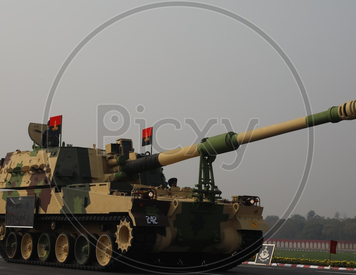 Indian Army Day Celebrations at Parade Ground in Delhi