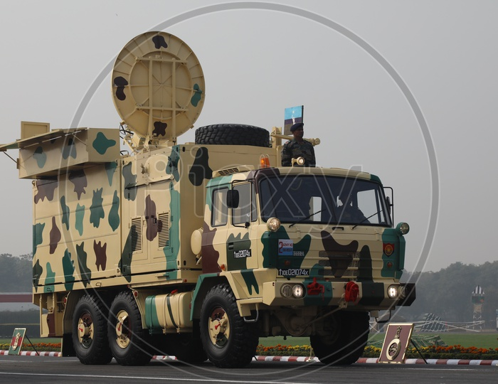 Transportable Satellite Terminal Vehicles of Indian Army