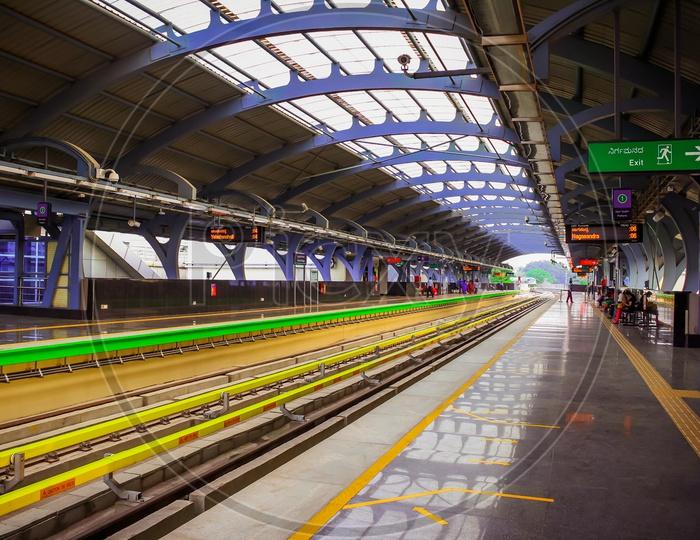 Metro Station in Bangalore