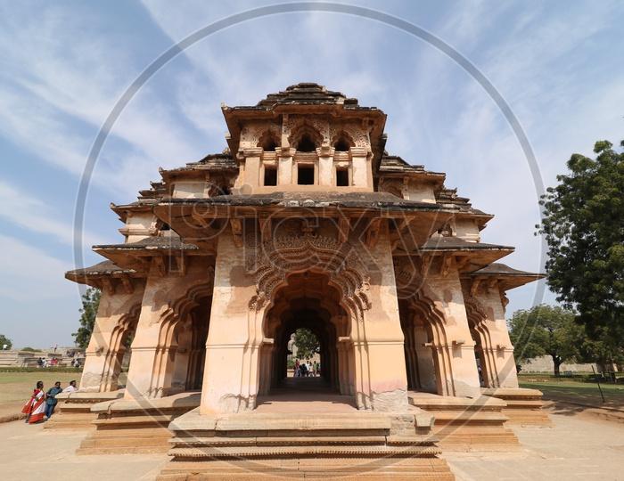 Lotus Temple in Hampi / Temples of Hampi/Historic Architecture of Hampi