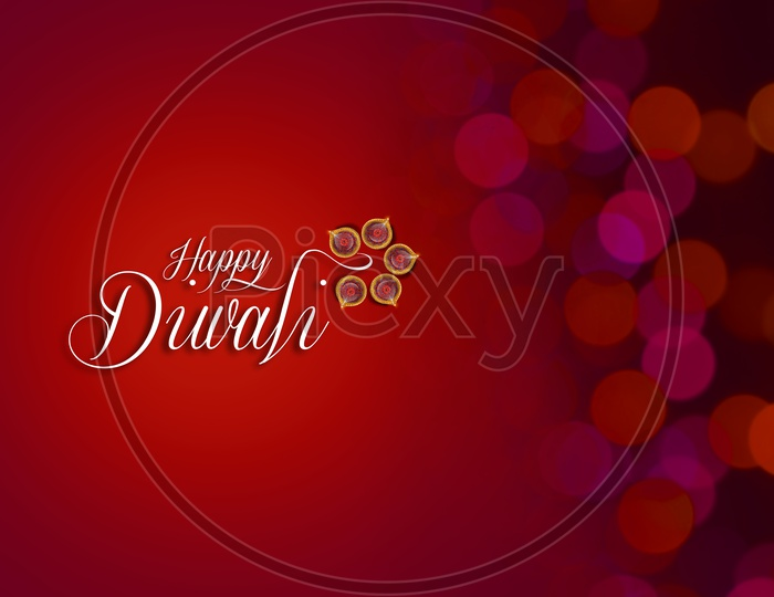 Indian Festival Diwali, Diwali Lamps, Deepavali Diyas