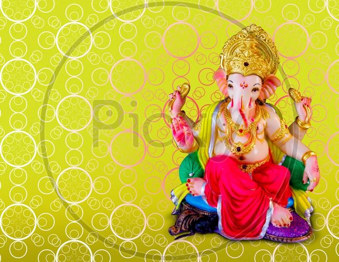 Idol of Lord Ganesha Banner / Ganesh