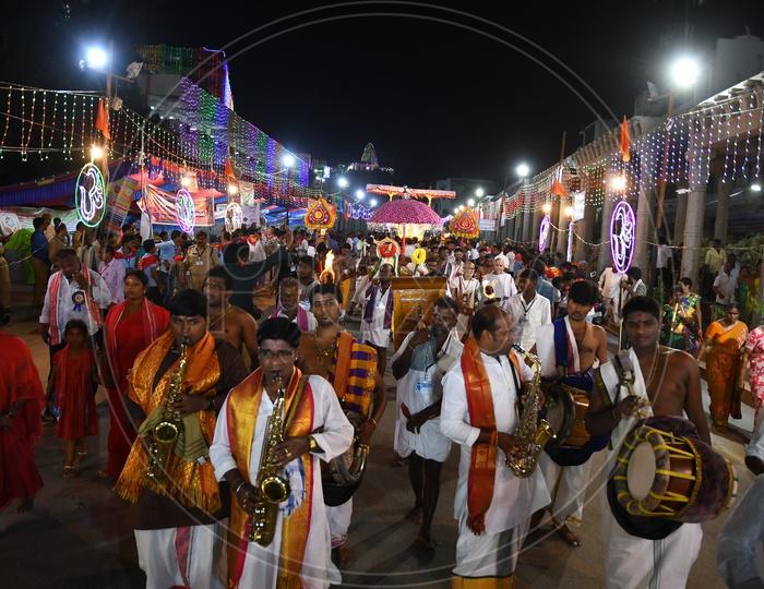 Dasara Festival Celebrations at Kanaka Durga Temple, Vijayawada