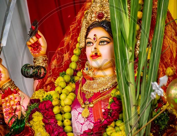 Hindu Goddess Durga Idol