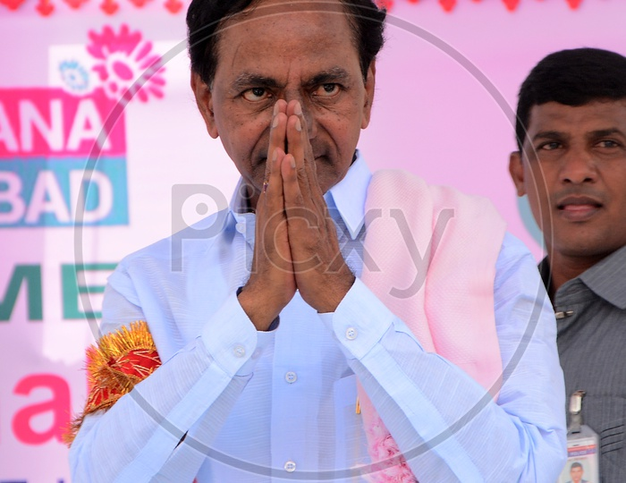 Kalvakuntla Chandrashekar Rao Popularly Known As  KCR