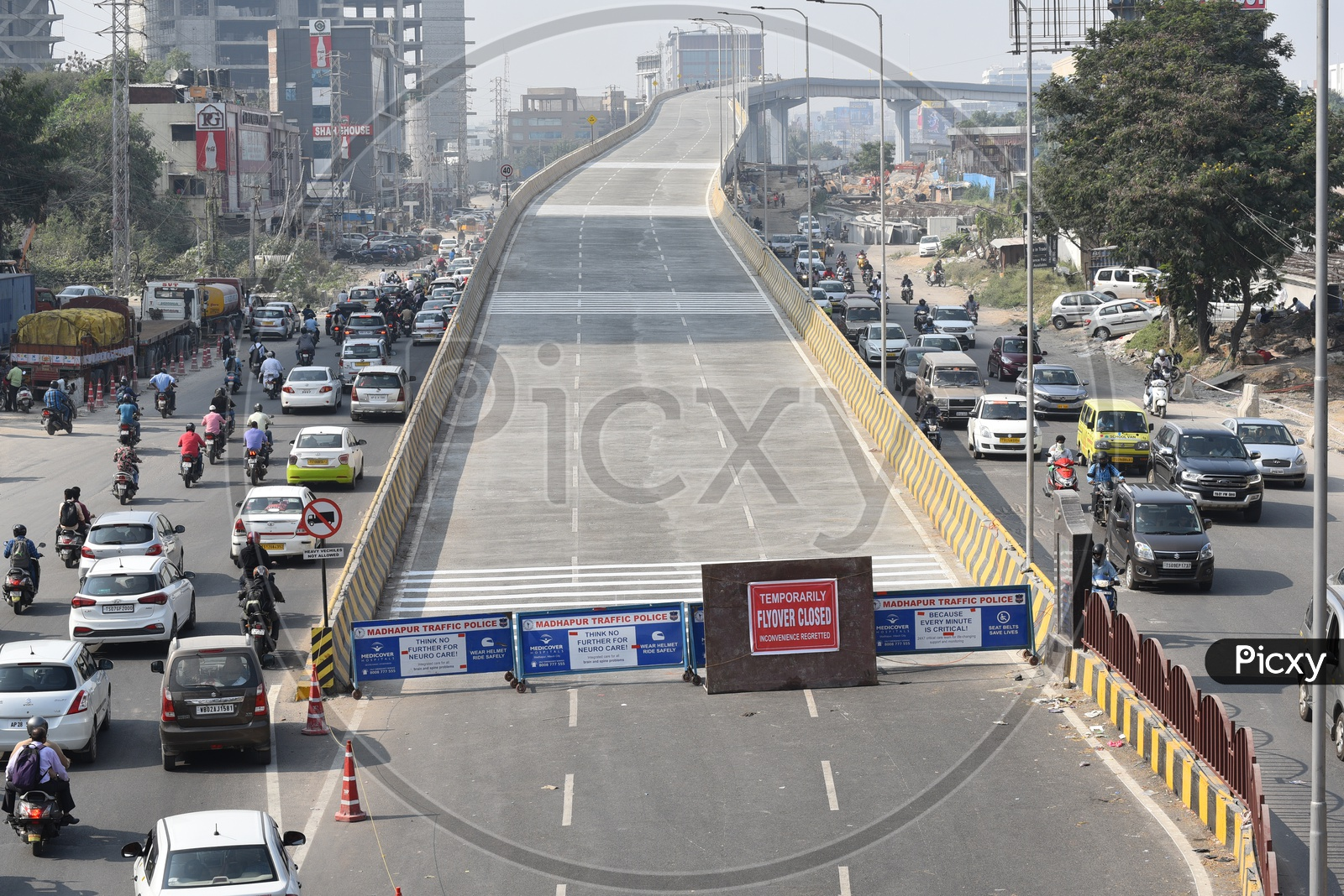 Newly Constructed Bio Diversity Flyover is Temporarily Closed for Public, 25th November 2019