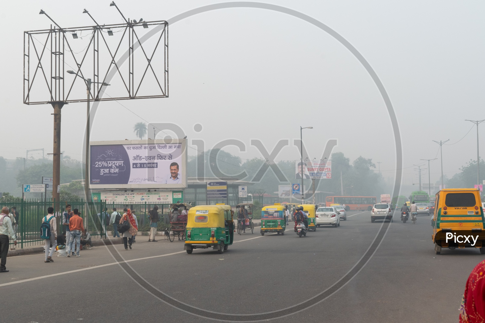 Odd Even rule due to Pollution(smog) at severe level in Delhi NCR after Diwali