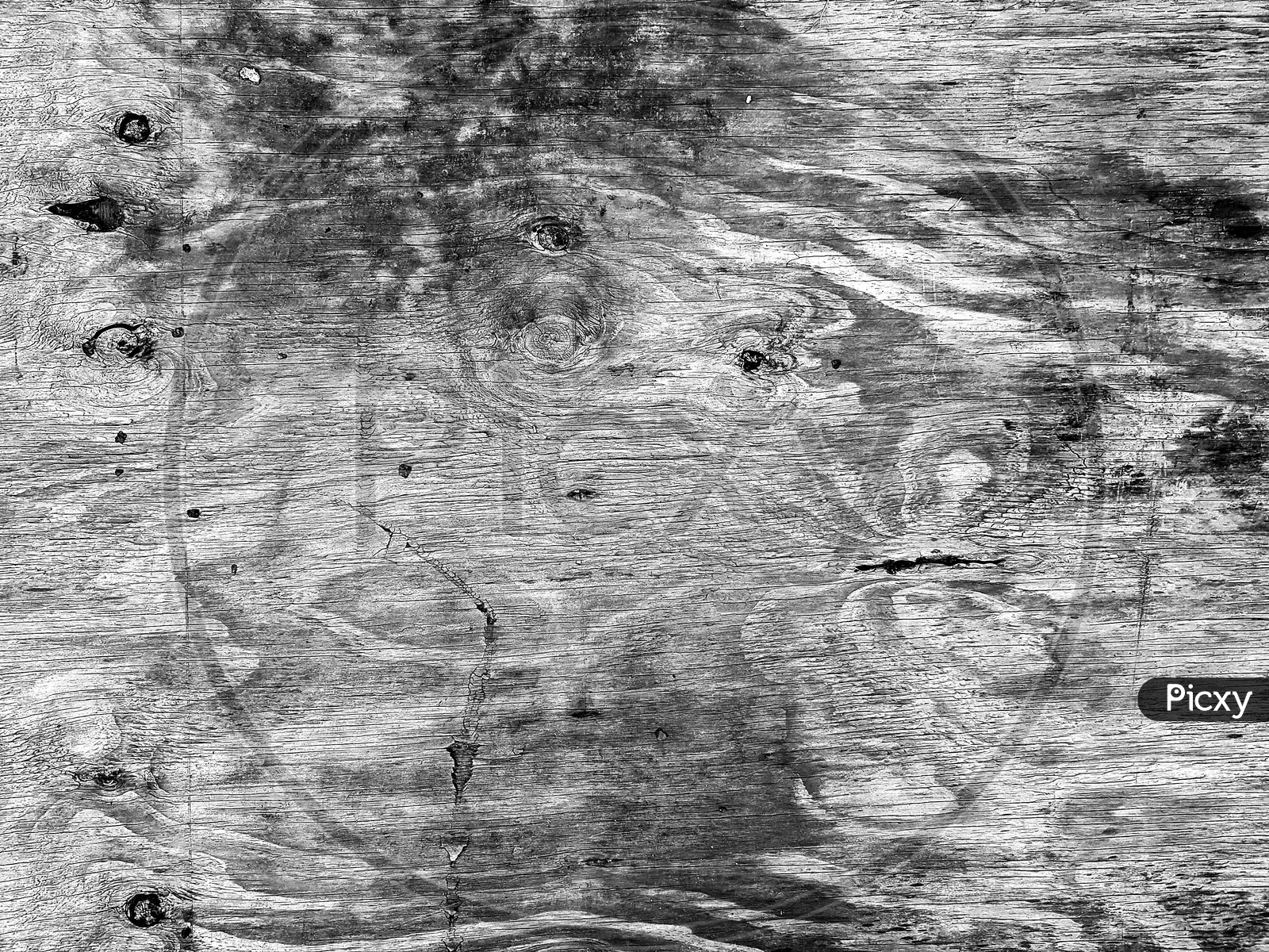 Black And White Wooden Texture Pattern Background