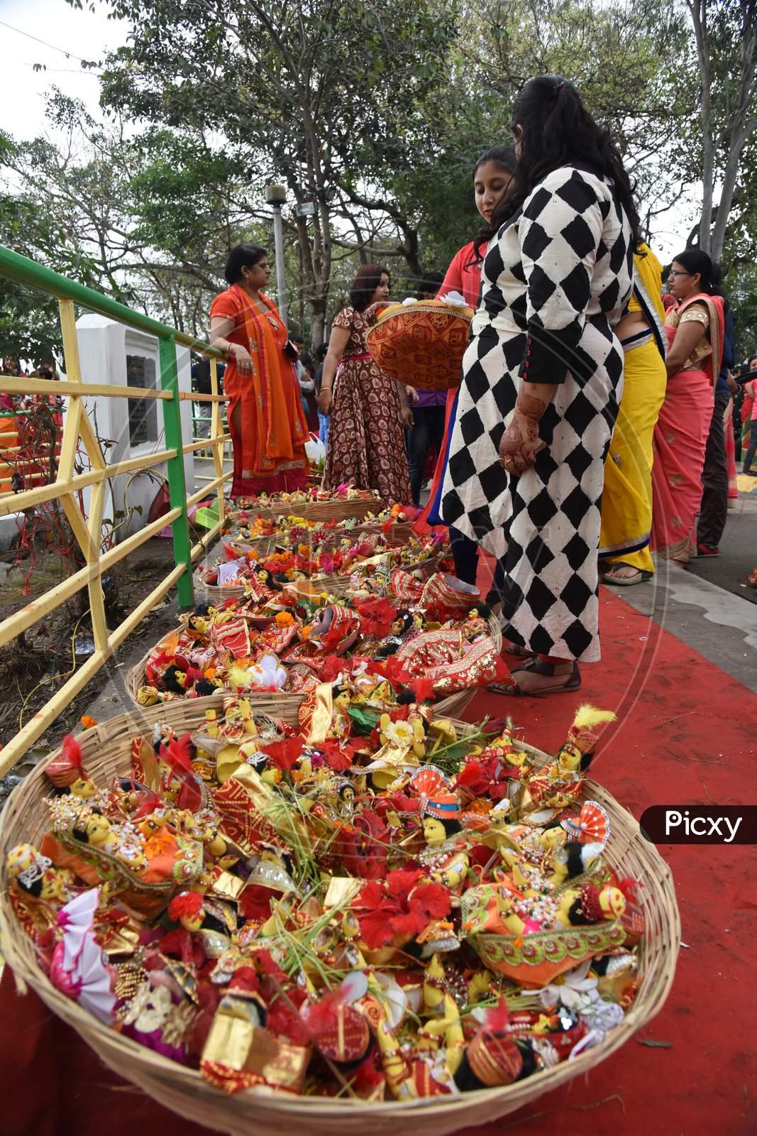 Gungar Festival Celebrations In Guwahati City, Assam On March 30 2017
