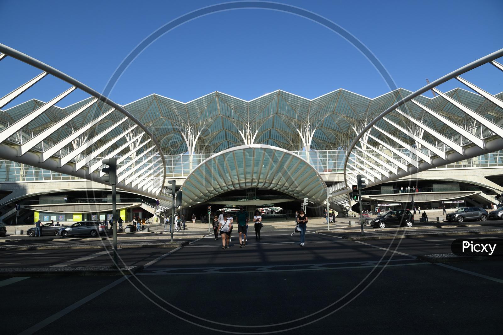 Gare Do Oriente Or The Lisbon Oriente Station  Is The Main Portuguese Intermodal Transport Hubs In Lisbon